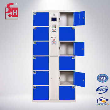 Cellphone Locker Small Items Storage With Electronic Lock