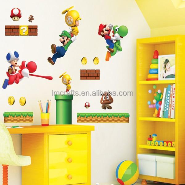 Fine Mario Bros Wall Decor Sketch - Wall Art Collections ...