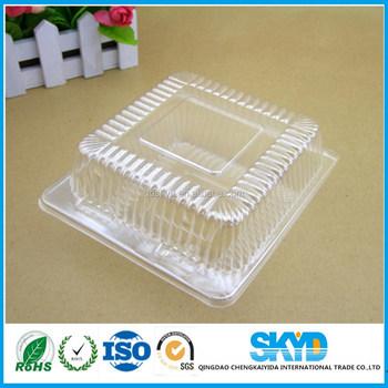 en gros de qualité alimentaire en plastique transparent boîte de