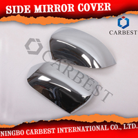Good Quality Car Chrome Side Mirror Cover For Ford Ranger T6 2013