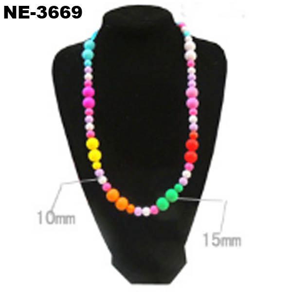 Baby Silicone Necklace Jewelry Chunky Teething Necklace Wholesale
