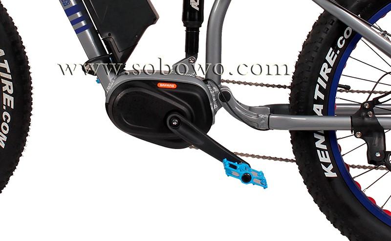 Mid Drive Motor Pedal Assist Electric Bike Beach Sport Classic Hummer Ce E Bikes Buy Electric