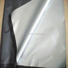 Quick deliver time Polyester Taffeta 190T silver coated Fabric
