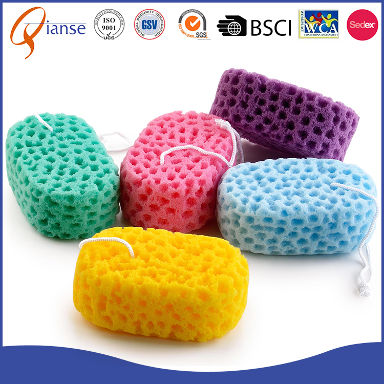 eco-friendly KIDS playing fun skin protected foam bath sponge