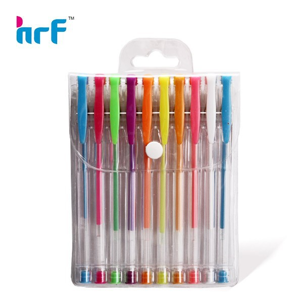 Fluorescent color Gel ink Pen