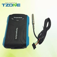 Tzone Portable temperature humidity data logger, electronic humidity and temperature recorder with USB connection