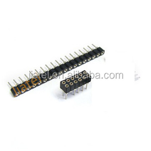 2.54mm Round Pin Pin length 7.4/7.43mm SIP Socket