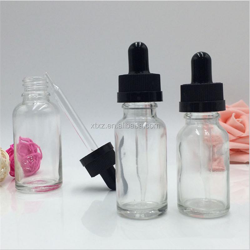 Precio de f brica 30 ml cuentagotas de vidrio transparente de botella de l quido e botella de - Vidrio plastico transparente precio ...