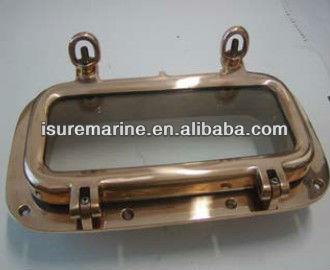 high quality polished bronze rectangular portlight-marine fittings