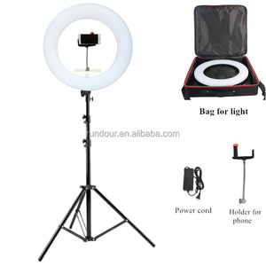 "High quality FE/FD/FS-480II 5500K Dimmable Camera Photo/Studio/Phone/Video 18"" 96W 480 LED Ring Light LED Lamp+ 2m tripod"