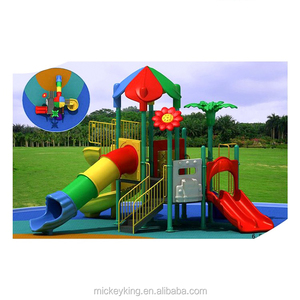 Commercial kids fun city outdoor playground equipment with gym function