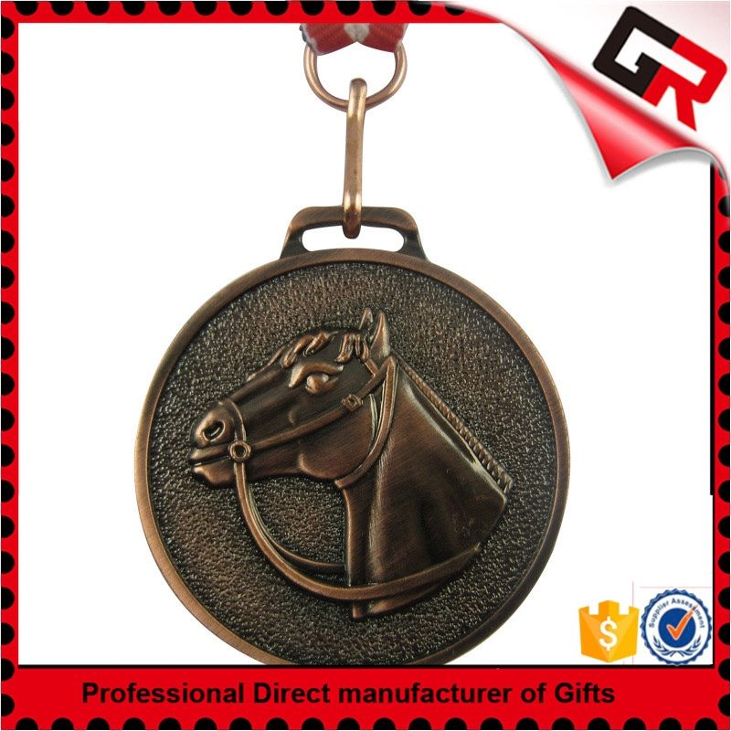 High Quality Metal Crafts embossed zinc medal+AA701:A1200