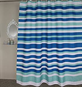 Get Quotations · Stall Extra Long Shower Curtain 54 X 78 Inches   Welwo