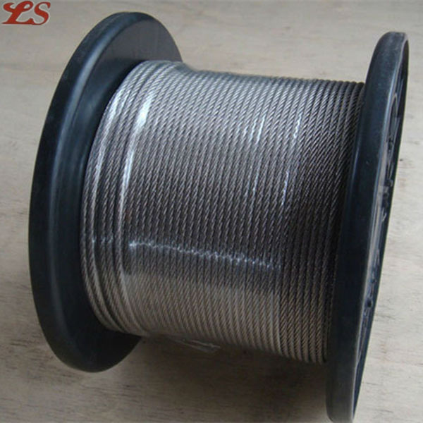 7x19 stainless steel wire rope price