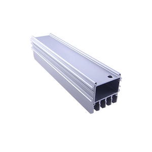 Factory price square aluminium profile for extrusion heat sink