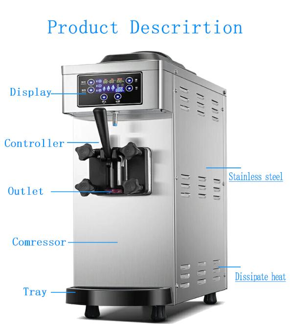Mini modello di auto-design commerciale macchina per il ghiaccio per le imprese