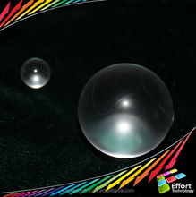 0.75mm-50mm Sapphire, Ruby, Fused silica optical glass ball lens