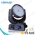 108x3w rgbw led wash moving head wash light effect guangzhou led stage light