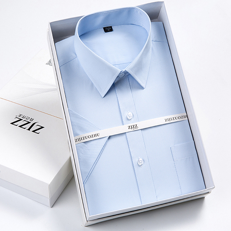 Коробка в виде мужской рубашки фото