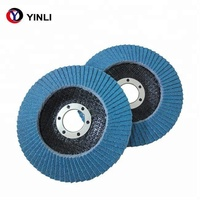 Hot-Sale 4.5in.Abrasive Zirconia Flap disc T29 Grit 60 Flap Disc for Stainless Steel