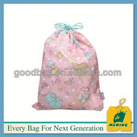 borong beg kanvas drawstring percetakan , MJ-DB0729-Y, China Supplier
