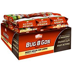 Ortho Bug B Gon Max Insect Killer for Lawns (Kills 100+ Insects for 3 Months Including Ants, Chinch Bugs, Fleas, and Ticks)
