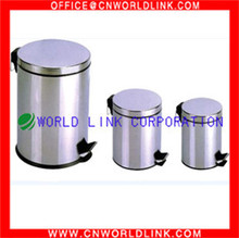 3L to 40L Household and Hotel Stainless Steel Pedal Bin