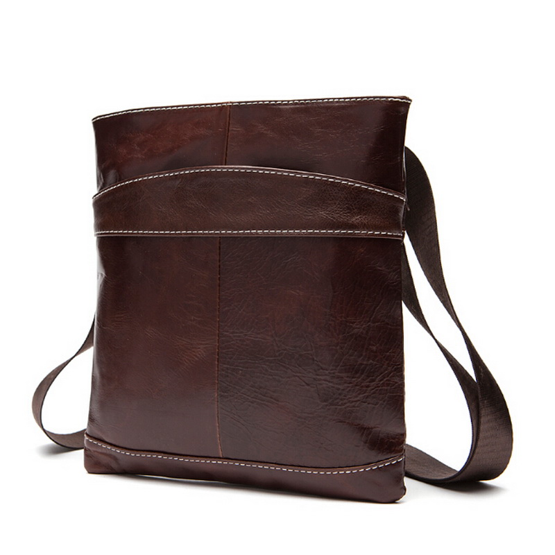 Натуральная кожа мужчины сумка мужская мода бренд мужской кроссбоди мешок одного плеча сумки сумки 2015 новая бесплатная доставка