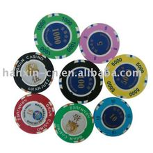 professionista di poker chip