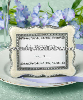 Victorian Design Picture Frame Favor Party table card holder