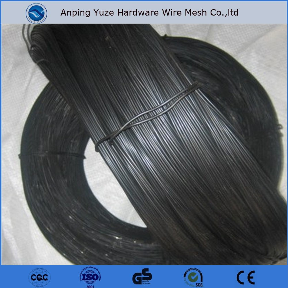 Hebei 0.5mm--6.0mm high quality black annealed wire/small coil wire
