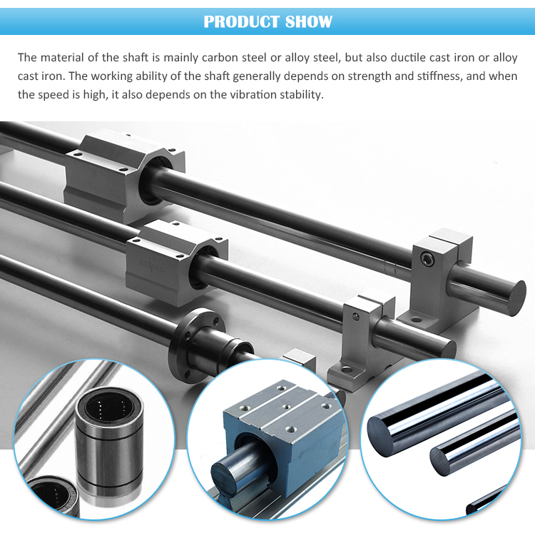 Stainless Carbon Steel Lm Shaft For Bearings