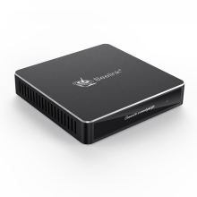 Boîtier métallique Mini Pc Gemini N4100 Quad Core N41 Mini Pc M.2 Ssd 128gb Ddr4 6gb Support Windows10 ordinateur de bureau Beelink N41