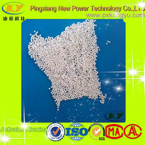 Good Quality Activated Alumina Desiccant msds 3-5mm,5-7mm