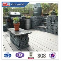 High Quality Welded Wire Mesh Gabion Basket/Garden Gabion