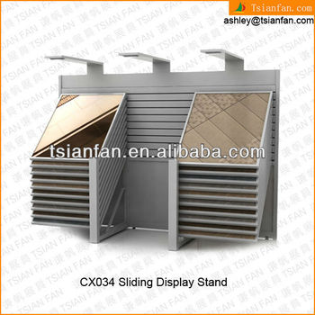 CX034 showroom fireplace hearth slabs holder