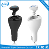 New Arrival 2.1V Fast Charging USB Car Charger+4.0 Wireless Bluetooth LED Earbud Headset Headphone Earphone