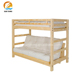 Twin over solid wood futon sofa bunk bed