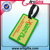 Wholesale cheap high quality prevent luggage missing pvc luggage hang tag