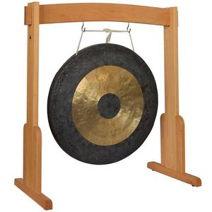 custom wooden gong stand