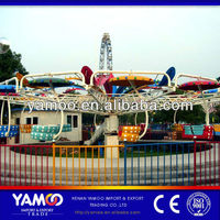 China Reliable Amusement Play Equipment Outdoor Park Rides twin flight, twister ride for Sale