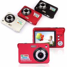 3 Colors! 2015 New 1080P HD Mini Digital Camera 18MP 2.7″ TFT photo camera 8x Zoom Smile Capture Anti-shake Video Camcorder