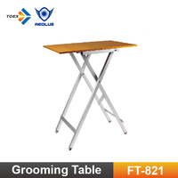 FT-821H Aluminum Foldable Pet grooming Table Light-weighted Dog Show Table