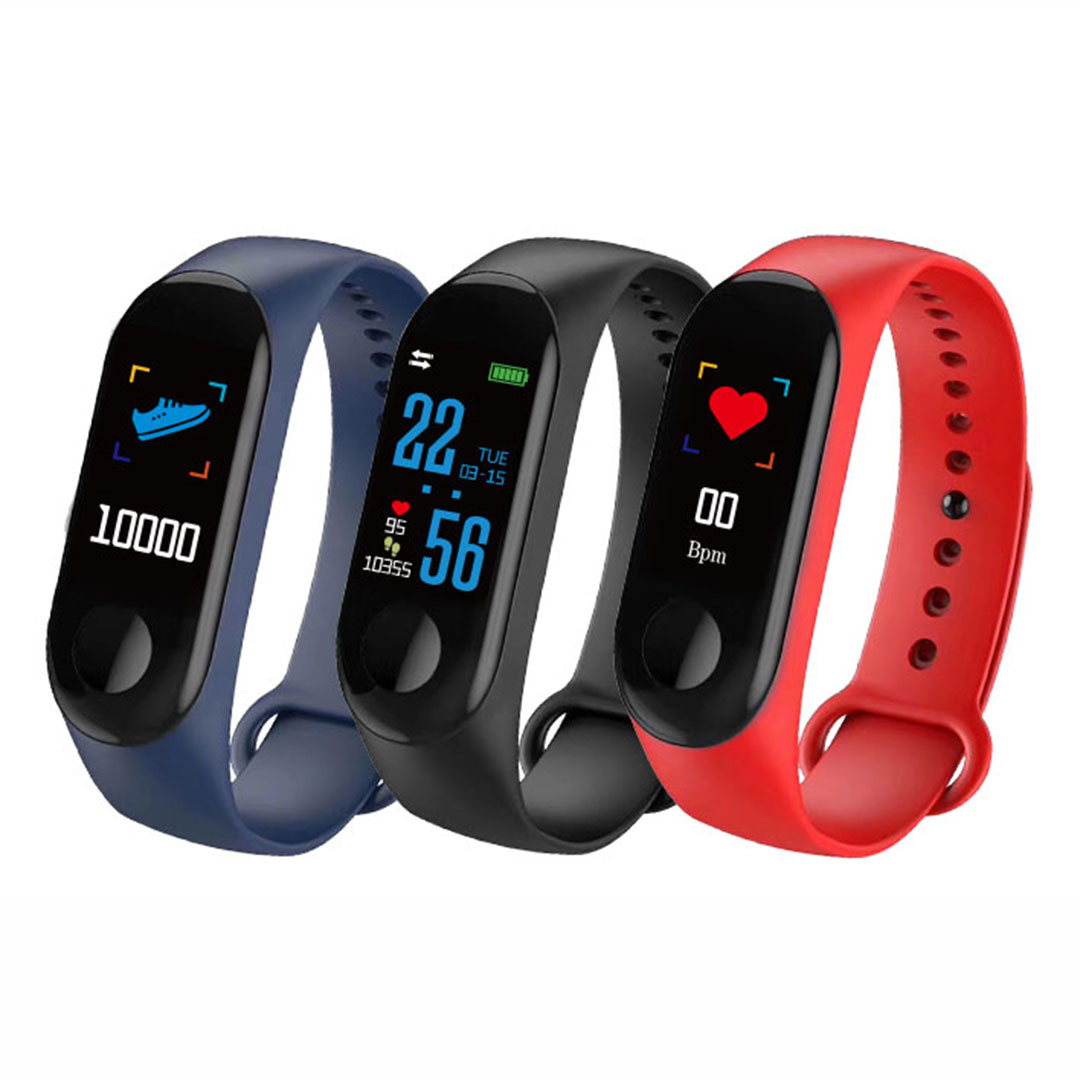 Hot selling mens health bracelet body suitable heart rate monitor smart band watch