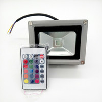 STL 10W RGB LED Flood Light Waterproof Floodlight Spotlights Outdoor lighting AC85~265V With Remote Controller