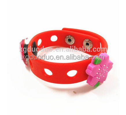Silicone Charm Bracelet Diy Pvc With Clasp Product On Alibaba