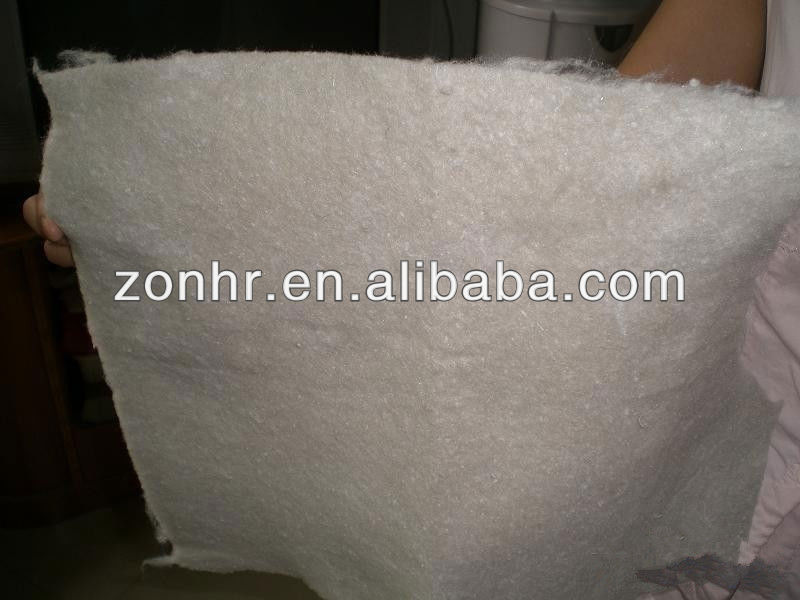 Long fiber needle punched PET geotextile civil works material