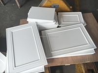 White PVC Thermofoil Cabinet Door