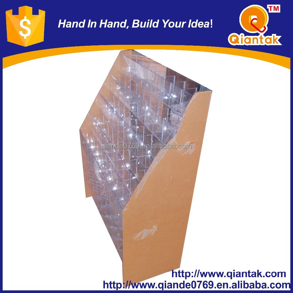 High Quality Clear Luxury Acrylic display Cosmetic Box Market <strong>Shelf</strong>
