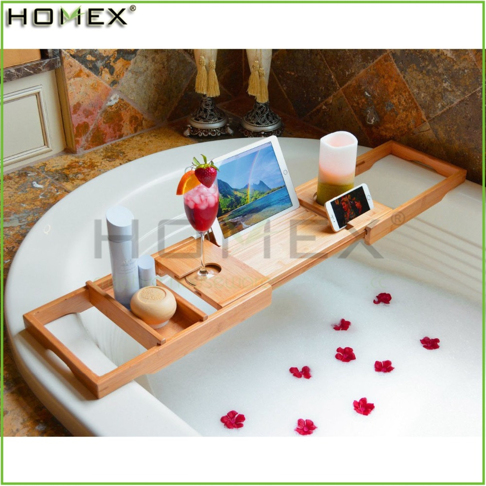 Bamboo Bath Caddy, Bamboo Bath Caddy Suppliers and Manufacturers at ...